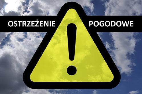 Znalezione obrazy dla zapytania ostrzezenia meteo