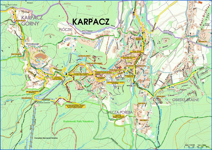 Plan Miasta Karpacz Pl